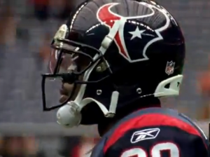 Andre Johnson was ranked #15 on the NFL's Top 100 list, despite missing several games in 2012.