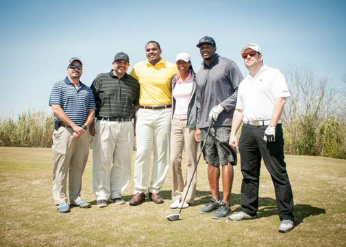 Chester Pitts Celebrity Golf tournament in March at Wildcat Golf Club in Houston, Tx