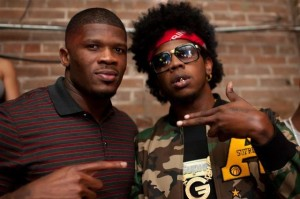 NBA All-Star with Trinidad James Coutesy of: bossip.com