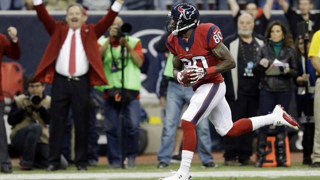 Andre Johnson for 62-Yard TD in First Minute