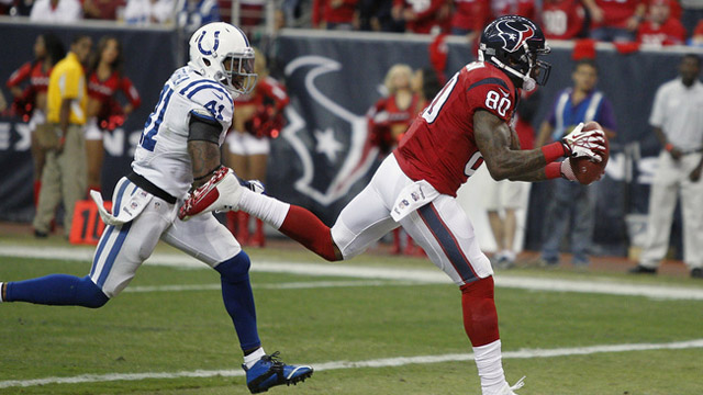 Andre Johnson Catches a 41-Yard Touchdown