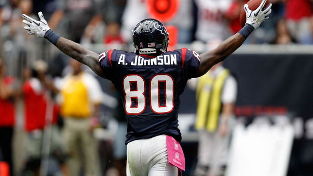 Andre Johnson: 'I'm working my butt off to make sure I'm ready to go'