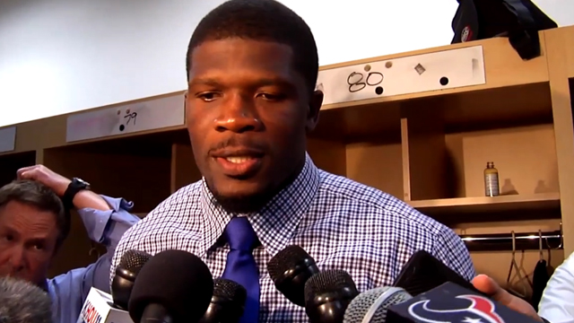 Postgame with Andre Johnson