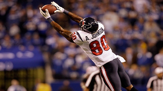 """Andre Johnson: Being in Indy """"a breath of fresh air"""""""